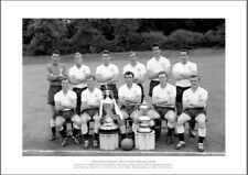 Tottenham Hotspur 1961 Double Winning Spurs Team Print Memorabilia (705)