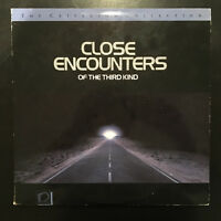Close Encounters of the Third Kind Laserdisc Criterion Collection Widescreen