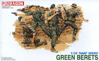 Dragon 1/35 3309 US Green Berets (Vietnam War) (NAM Series) (4 Figures)