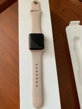 apple watch series 3 (GPS) Rose Gold 38mm with Pink Sport Band