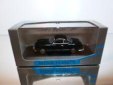 MINICHAMPS 5000 VW VOLKSWAGEN KARMANN GHIA COUPE - BLACK 1:43 - GOOD IN BOX