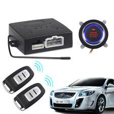 Coche sistema de alarma keyless de la entrada del motor del comienzo Botón Pulsador de arranque remoto de Auto Stop