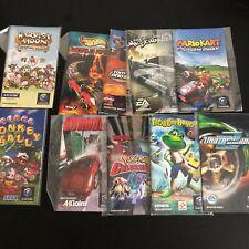GameCube Manuals Original