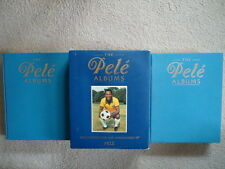 THE PELE ALBUMS  2 HB WITH SLIPCASE  1990 1st AUSTRALIAN EDITION THUS