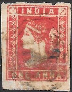 India 1854  SG11  F.Used Cat £110    (1)