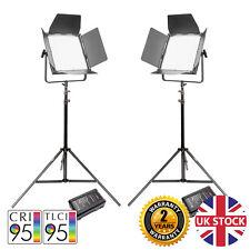 Kit de VNIX1500S doble LED Luz de vídeo con las baterías V-Mount Regulable remoto