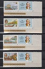 TIMBRE STAMP 4 ILES COOK Y&T# HISTOIRE BATEAU BOAT  NEUF**/MNH-MINT 1968 ~B41