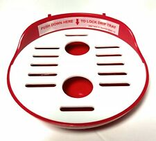 Baby Brezza Formula Pro FRP0045 Replacement Red Drip Tray and Grate
