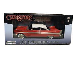 Christine 1958 Plymouth Fury Evil Red Version 1:43 Diecast Car GREENLIGHT