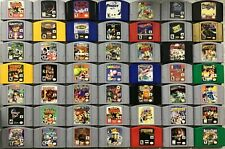 Nintendo 64 N64 games TESTED - CLEANED - Pins POLISHED - AUTHENTIC