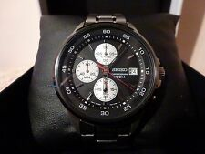 Seiko  Mens Chronograph Wristwatch  Unmarked  with Original Box    Works well