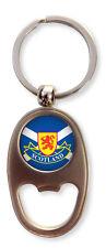 Scottish Saltire Flag Lion Rampant Scotland Oval Bottle Opener Keyring Charm