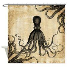 CafePress Vintage Octopus Shower Curtain (1263442069)