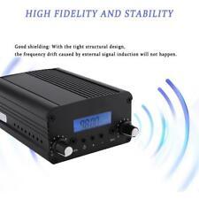 7w Dc12v Stereo FM Transmitter Broadcast Radio Station Antenna 76 108mhz Kit