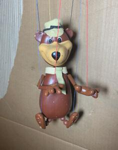 Pelham Puppet 'Yogi Bear' Screen Gems Inc. Range with Original Box