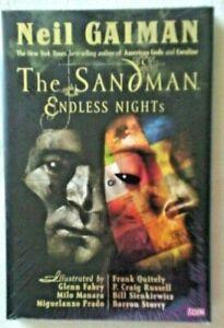 SANDMAN Endless Nights 1st Print 2003 Hardcover Fac. Sealed Mint, NEW! Gaiman