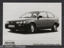 PRESS - FOTO/PHOTO/PICTURE - Toyota Corolla Hatchback Spirit