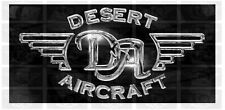 Chrome Desert Aircraft Engine Graphics
