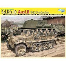 Dragon 6731 Sd. Kfz 10 Ausf B 1942 Production 1/35 scale plastic model kit