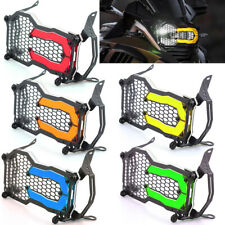 Warm Tones Headlight Guard Transparent Lens Grill Cover Trim For BMW R1250GS ADV