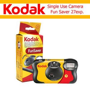 Kodak Single Use Camera Fun Saver Disposable 27 Exposures Film Date 2022-9