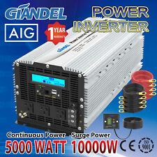 Power Inverter 5000W/10000W Modified Sine Wave 12V/240V USA Transistors