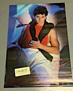Vintage 1986 Kirk Cameron original Sweater Poster (unused) 22 x 34 inches