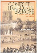 LASCAUX Mikaël - CONTES ET LEGENDES DE BRETAGNE - 1984