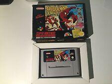 Super Nintendo SNES Spiderman Xmen Arcade's Revenge PAL ITA