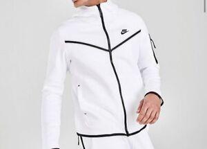 Nike sportswear tech fleece taped full-zip hoodie Jacket Small Men's
