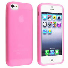 BABY PINK SILICONE PROTECTION CASE SKIN COVER FOR APPLE IPHONE 4 4G