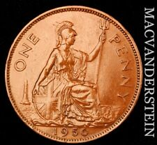 Great Britain: 1950 One Penny - Scarce  High Grade  #NR8372