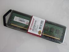 Transcend Speichermodul ArbeitsspeicherJM1333KLH-4G 4GB DDR3 1333 MHz U-DIMM Neu