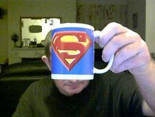 DC COMICS  / MARVEL  SUPERMAN LOGO MUG & BOX IDEAL BIRTHDAY GIFT!