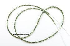 "13.14 ct Natural Blue Greenish Color Diamond Faceted Polished Beads 16"" Strand."