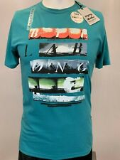 New Billabong 5 Scene Strips Men's Short Sleeve T-Shirt, Mult Color, S-XL, Slim