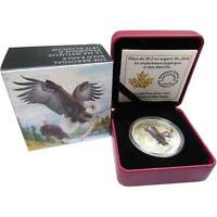 2016 $20 Canadian Majestic Animals Baronial Bald Eagle .9999 1 oz Silver Coin