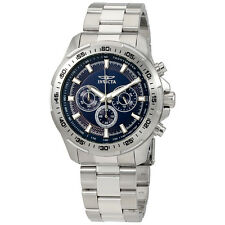 Invicta Speedway Blue Dial Mens Chronograph Watch 22781