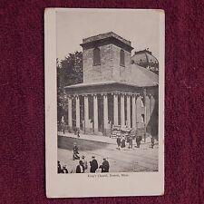 Vintage Postcard King's Chapel, Boston, Mass.