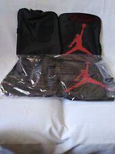 Jordan Jumpman Duffel Sport Gym Bag-Sz Medium -Black Gym Red-Water Resistant