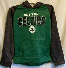 NBA Kids Boston Celtics Gray/Green Hoodie (S, M, XL) New