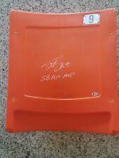 Rare! Drew Brees signed Hard Rock Stadium Seatback Beckett COA