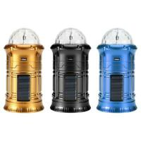 Solar LED Outdoor Camping Light Portable Collapsible Tent Lamp Hiking Lantern