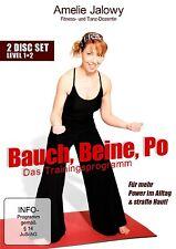 Bauch, Beine, Po - Das Trainingsprogramm ( 2 DVDs ) Fitness & Strafe Haut NEU OV