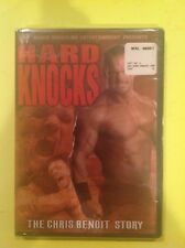 WWE-Hard Knocks The Chris Benoit Story (DVD,2004)NEW RARE OOP Authentic US