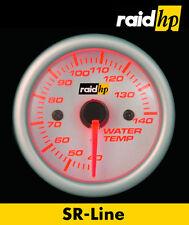 Raid hp SR Line Zusatz Instrument Wasser Temperatur Anzeige+Sensor rot weiß 52mm
