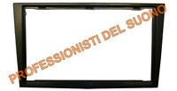 Mascherina adattatore radio DOPPIO DIN-Opel CORSA,ANTARA,ASTRA,ZAFIRA nero lucid