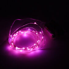 LED Starry Fairy String Lights 3M 10ft 30LEDs Battery Powered White Blue Purple