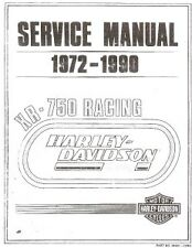 1972-up Harley XR750 Factory Workshop Manual COPY 55 pg
