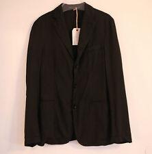 Neu Orig. Original Vintage Style Sakko Blazer Jacke Jacket sack coat antrazit 44